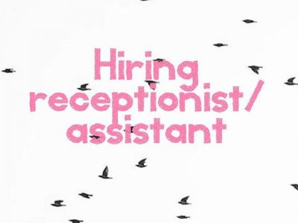 Gezocht: Salon Assistent/Receptionist
